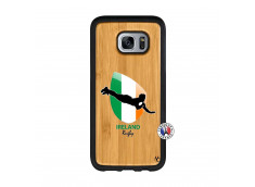 Coque Samsung Galaxy S7 Coupe du Monde Rugby-Ireland Bois Bamboo