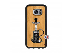 Coque Samsung Galaxy S7 Jack Hookah Bois Bamboo