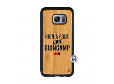 Coque Samsung Galaxy S7 Rien A Foot Allez Guingamp Bois Bamboo