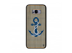 Coque Samsung Galaxy S8 Plus Ancre Bois Bamboo
