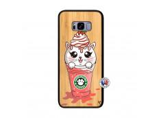 Coque Bois Samsung Galaxy S8 Plus Catpucino Ice Cream