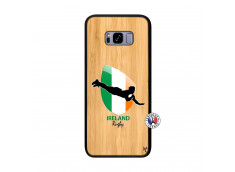 Coque Samsung Galaxy S8 Plus Coupe du Monde Rugby-Ireland Bois Bamboo