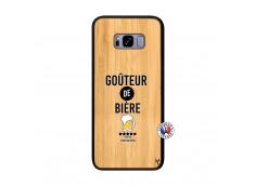 Coque Samsung Galaxy S8 Plus Gouteur De Biere Bois Bamboo