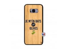 Coque Samsung Galaxy S8 Plus Je M En Bas Les Olives Bois Bamboo