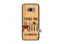 Coque Bois Samsung Galaxy S8 Plus Je Peux Pas J Ai Barbecue
