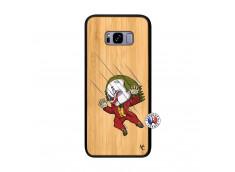 Coque Samsung Galaxy S8 Plus Joker Impact Bois Bamboo