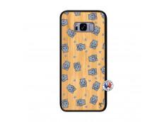 Coque Samsung Galaxy S8 Plus Petits Hippos Bois Bamboo