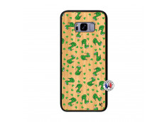 Coque Samsung Galaxy S8 Plus Petits Serpents Bois Bamboo