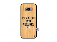 Coque Samsung Galaxy S8 Plus Rien A Foot Allez Auxerre Bois Bamboo