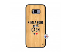 Coque Samsung Galaxy S8 Plus Rien A Foot Allez Caen Bois Bamboo