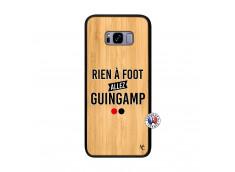 Coque Samsung Galaxy S8 Plus Rien A Foot Allez Guingamp Bois Bamboo