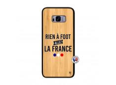 Coque Samsung Galaxy S8 Plus Rien A Foot Allez La France Bois Bamboo
