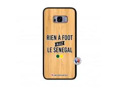 Coque Samsung Galaxy S8 Plus Rien A Foot Allez Le Senegal Bois Bamboo