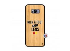 Coque Samsung Galaxy S8 Plus Rien A Foot Allez Lens Bois Bamboo