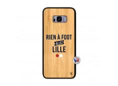 Coque Samsung Galaxy S8 Plus Rien A Foot Allez Lille Bois Bamboo
