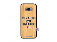 Coque Samsung Galaxy S8 Plus Rien A Foot Allez Liverpool Bois Bamboo