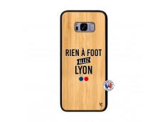 Coque Samsung Galaxy S8 Plus Rien A Foot Allez Lyon Bois Bamboo