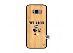 Coque Samsung Galaxy S8 Plus Rien A Foot Allez Metz Bois Bamboo