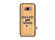 Coque Samsung Galaxy S8 Plus Rien A Foot Allez Sochaux Bois Bamboo