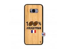 Coque Samsung Galaxy S8 Plus 100% Rugbyman Bois Bamboo