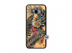 Coque Samsung Galaxy S8 Plus Leopard Tree Bois Bamboo