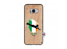 Coque Samsung Galaxy S8 Coupe du Monde Rugby-Ireland Bois Bamboo
