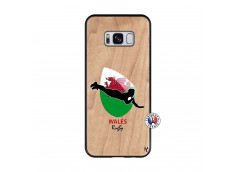 Coque Samsung Galaxy S8 Coupe du Monde Rugby-Walles Bois Bamboo
