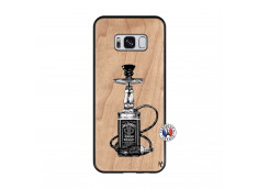 Coque Samsung Galaxy S8 Jack Hookah Bois Bamboo