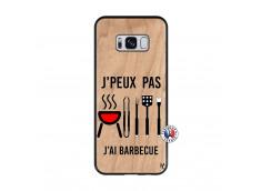 Coque Bois Samsung Galaxy S8 Je Peux Pas J Ai Barbecue