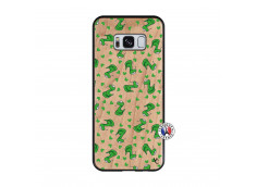 Coque Samsung Galaxy S8 Petits Serpents Bois Bamboo
