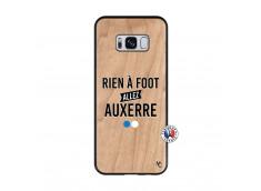 Coque Samsung Galaxy S8 Rien A Foot Allez Auxerre Bois Bamboo