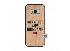 Coque Samsung Galaxy S8 Rien A Foot Allez Guingamp Bois Bamboo