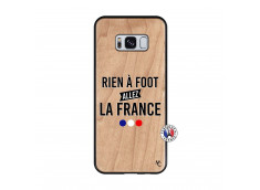 Coque Samsung Galaxy S8 Rien A Foot Allez La France Bois Bamboo