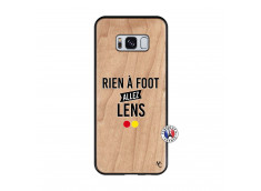 Coque Samsung Galaxy S8 Rien A Foot Allez Lens Bois Bamboo