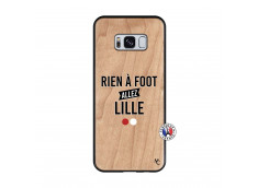 Coque Samsung Galaxy S8 Rien A Foot Allez Lille Bois Bamboo