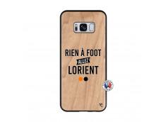 Coque Samsung Galaxy S8 Rien A Foot Allez Lorient Bois Bamboo