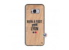 Coque Samsung Galaxy S8 Rien A Foot Allez Lyon Bois Bamboo
