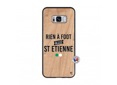 Coque Samsung Galaxy S8 Rien A Foot Allez St Etienne Bois Bamboo