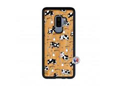 Coque Samsung Galaxy S9 Plus Cow Pattern Bois Bamboo