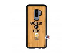 Coque Samsung Galaxy S9 Plus Gouteur De Biere Bois Bamboo