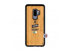 Coque Samsung Galaxy S9 Plus Je Crains Degun Bois Bamboo