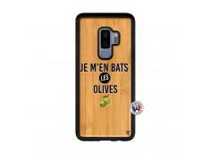 Coque Samsung Galaxy S9 Plus Je M En Bas Les Olives Bois Bamboo