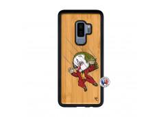 Coque Samsung Galaxy S9 Plus Joker Impact Bois Bamboo
