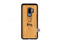 Coque Samsung Galaxy S9 Plus King Bois Bamboo