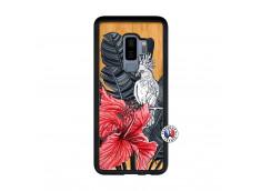 Coque Samsung Galaxy S9 Plus Papagal Bois Bamboo