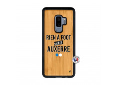 Coque Samsung Galaxy S9 Plus Rien A Foot Allez Auxerre Bois Bamboo