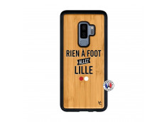 Coque Samsung Galaxy S9 Plus Rien A Foot Allez Lille Bois Bamboo