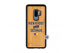 Coque Samsung Galaxy S9 Plus Rien A Foot Allez Sochaux Bois Bamboo
