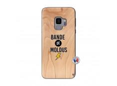 Coque Samsung Galaxy S9 Bandes De Moldus Bois Bamboo