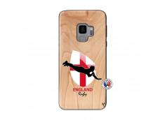Coque Samsung Galaxy S9 Coupe du Monde Rugby-England Bois Bamboo